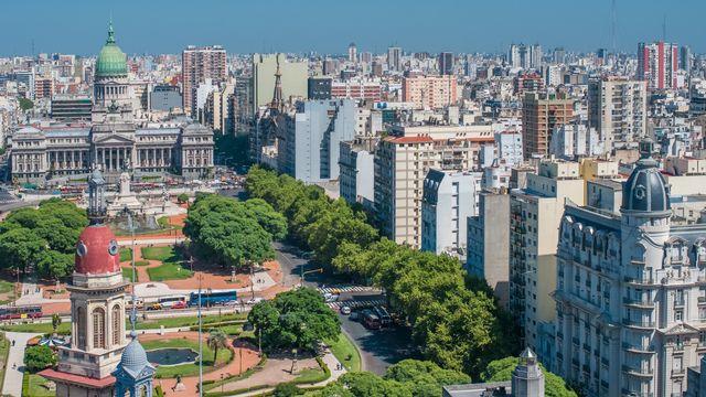 Panorama de Buenos Aires. [javarman - Depositphotos]