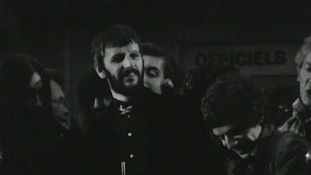Ringo Starr affole Cannes [RTS]