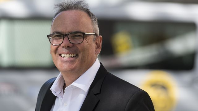 Jean-Francois Jeff Collet, vice-président de la Swiss Football League et propriétaire de Neuchâtel Xamax. [Alessandro della Valle - Keystone]