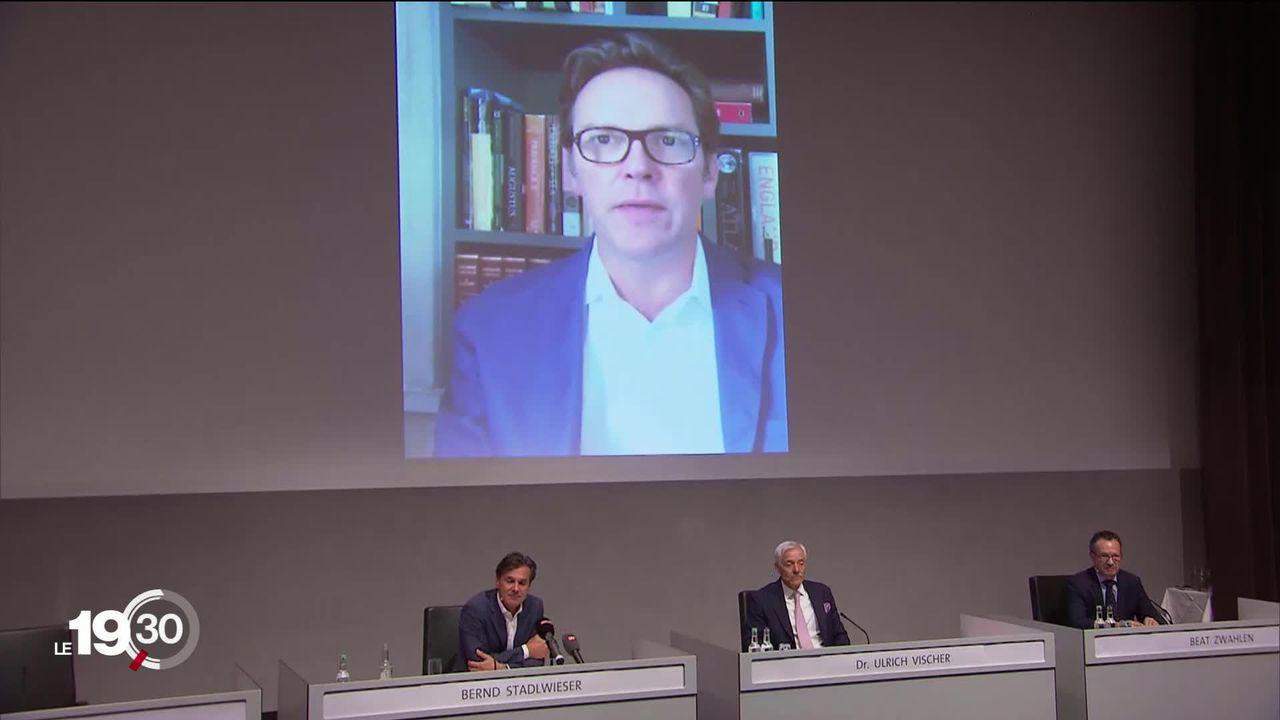 Le groupe MCH, organisateur d'Artbasel, va recevoir plus de 100 millions de francs de la part du fils de Rupert Murdoch. [RTS]