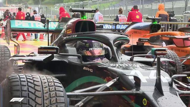 GP d'Autriche, qualifs: Hamilton (GBR) partira en pôle position [RTS]