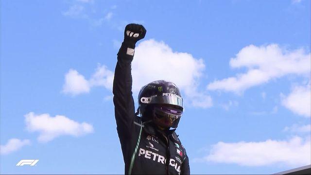 GP d'Autriche (#2): victoire de Lewis Hamilton (GBR) devant son coéquipier Bottas (FIN) [RTS]
