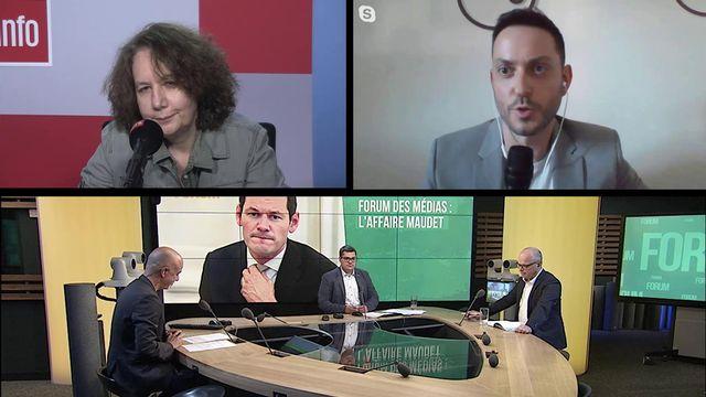 Débat entre Fati Mansour, Raphaël Leroy et Philippe Reichen. [RTS - RTS]