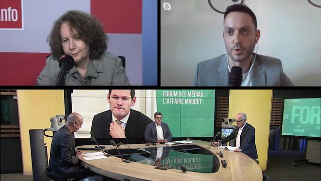 Forum des médias (vidéo) - L'affaire Maudet [RTS]