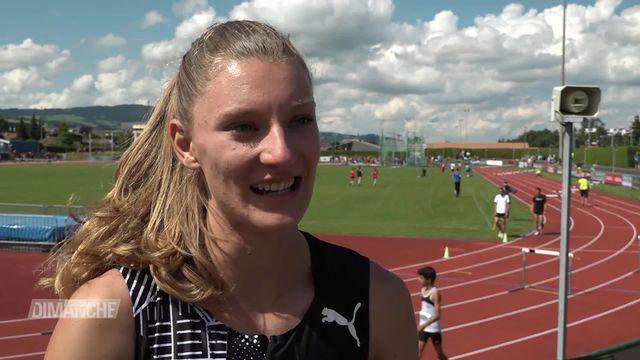 Athlétisme: Ajla Del Ponte a brillé en Gruyères [RTS]