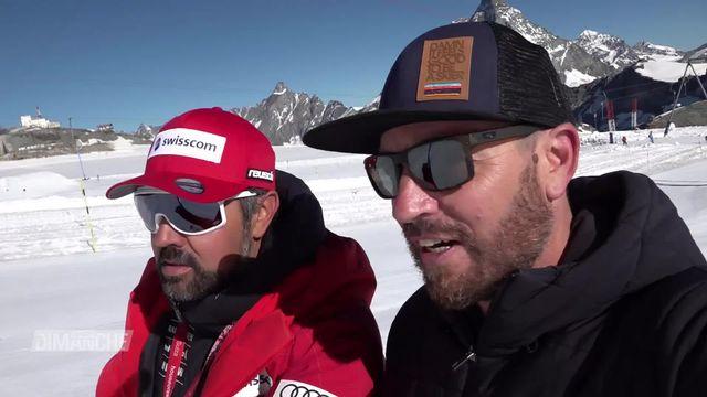 Ski: les messieurs ont retrouvé la neige à Zermatt [RTS]