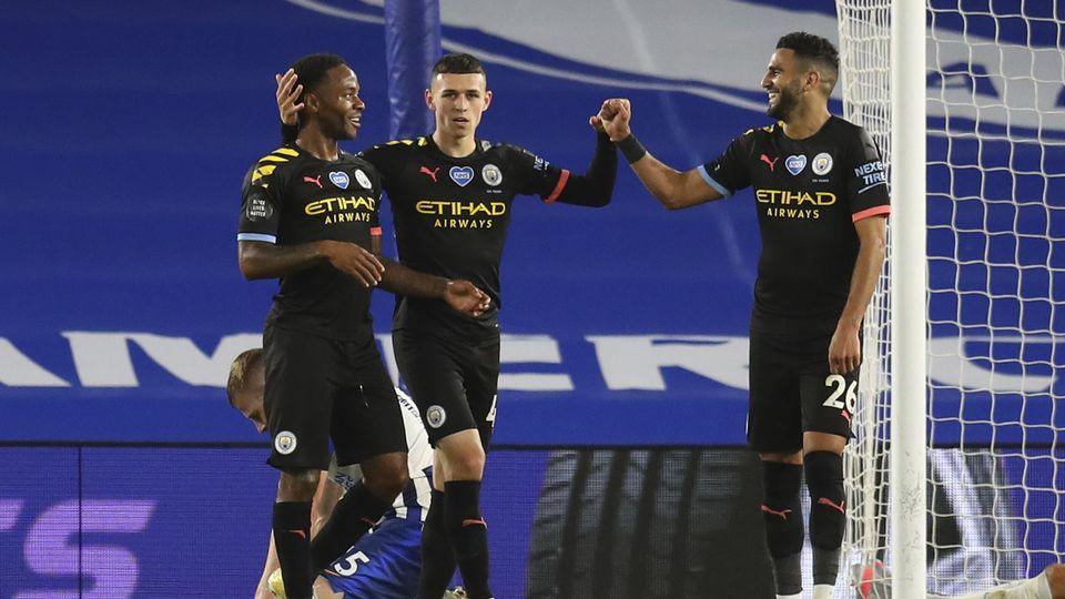 Les joueurs de City seront bel et bien au rendez-vous de la prochaine Ligue des champions. [Cath Ivill - Keystone]