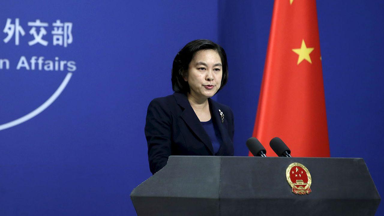 La porte-parole du ministère chinois des Affaires étrangères Hua Chunying. [Jason Lee - Reuters]
