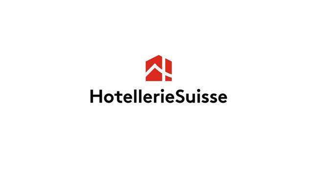 Le logo d'HotellerieSuisse, la Société suisse des hôteliers. [HotellerieSuisse]