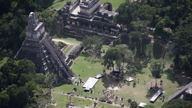 Le site archéologique de Tikal au Guatemala. [Especial / Notimex via AFP]