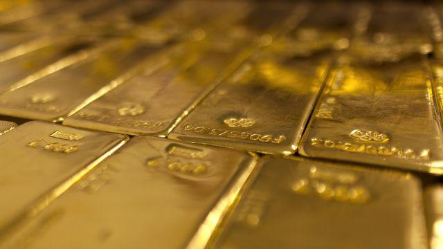 La Suisse est la principale plaque tournante du commerce international de l'or. [Martin Ruetschi - Keystone]