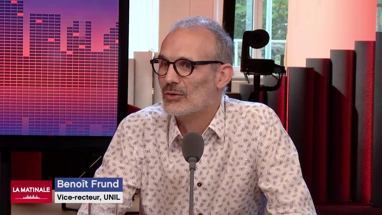 """L'invité de La Matinale (vidéo) - Benoît Frund, vice-recteur """"Durabilité et Campus"""" à l'Université de Lausanne [RTS]"""