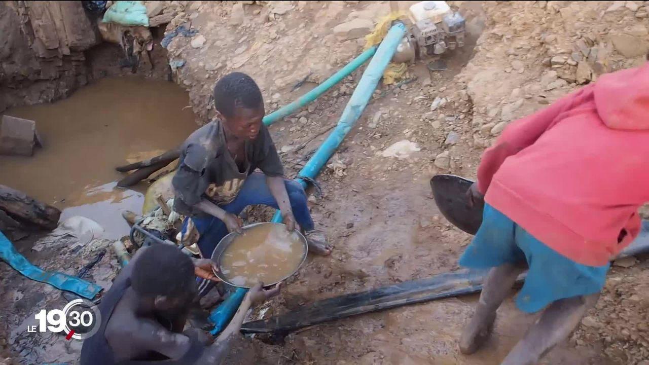 Le principal raffineur suisse importerait de grandes quantités d'or issues de zones de guerre ou des mines employant des enfants [RTS]