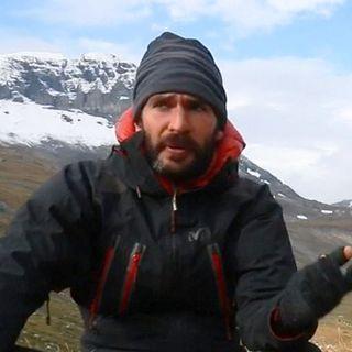 """Matthieu Chambaud, réalisateur de """"Via Alpina"""". [Association Via Alpina - L'envers du chemin]"""