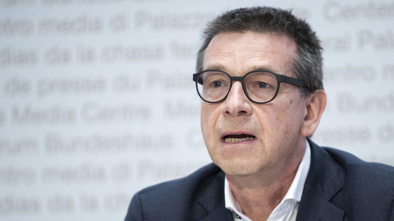 Matthias Egger quitte la présidence de la task force Covid-19 [Peter Schneider - Keystone]