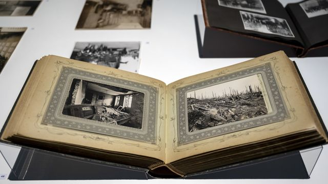 """The Incredible World of Photography. Collection Ruth et Peter Herzog"" au Kunstmuseum de Bâle. [Georgios Kefalas - Keystone]"