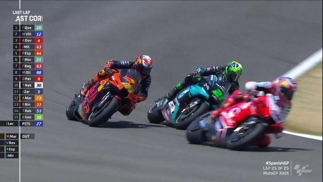 GP d'Espagne (#1), MotoGP: victoire de Quartararo (FRA) devant Vinales (ESP) 2e et Dovizioso (ITA) 3e [RTS]
