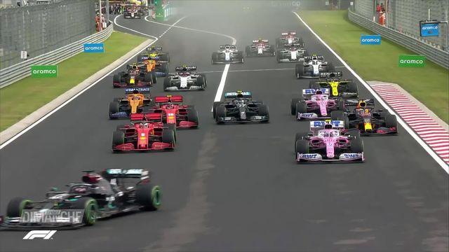 Formule 1: Hamilton s'impose en Hongrie [RTS]