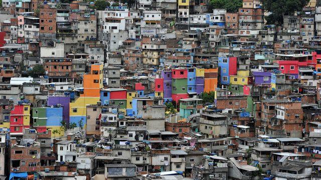 Une vue de la favela Rocinha de Rio de Janeiro. [Christophe Simon - AFP]