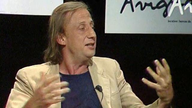 Georges Wod, directeur du Théâtre de Carouge, en 1982.