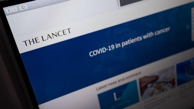 Le Lancet a publié lundi deux études cliniques très attendues sur les vaccins au Covid-19. [Hans Lucas - AFP]