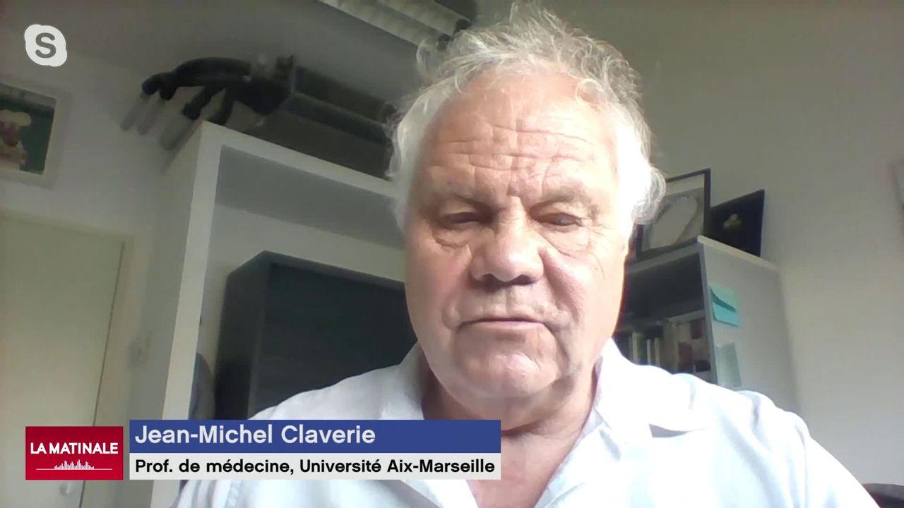 L'invité de La Matinale (vidéo) - Jean-Michel Claverie, professeur de médecine et spécialiste des virus [RTS]