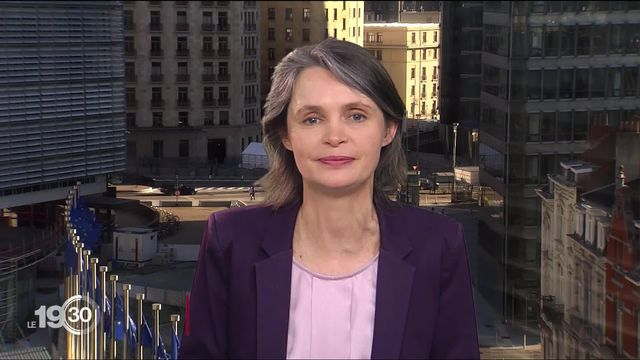 Isabelle Ory à propos du plan de relance de l'Union européenne. [RTS]