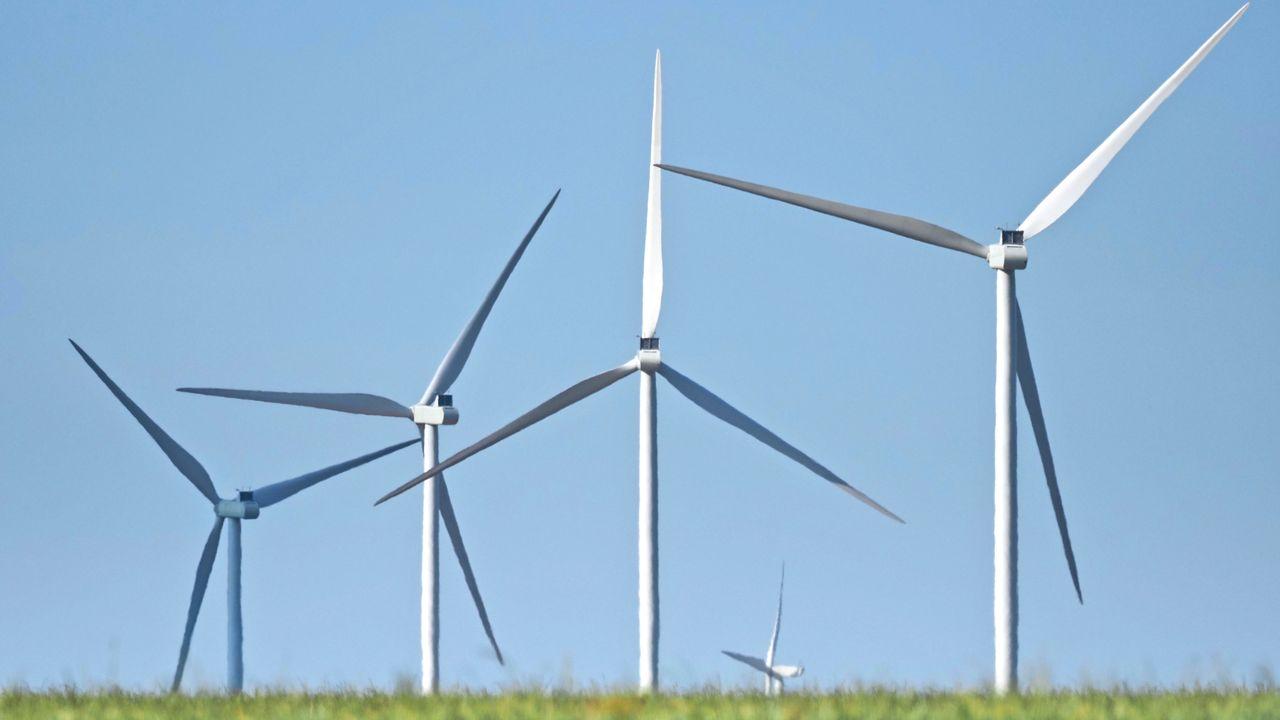 Grâce au confinement, la production de courant vert dépasse le fossile [Guillaume Souvant - AFP]