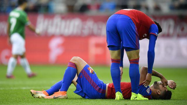 Le FC Bâle n'a, pour l'heure, pas besoin de se mettre en quarantaine. [Gian Erhenzeller - Keystone]