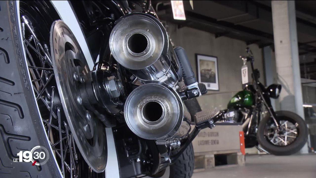 Des élus partent en guerre contre le bruit des motos [RTS]