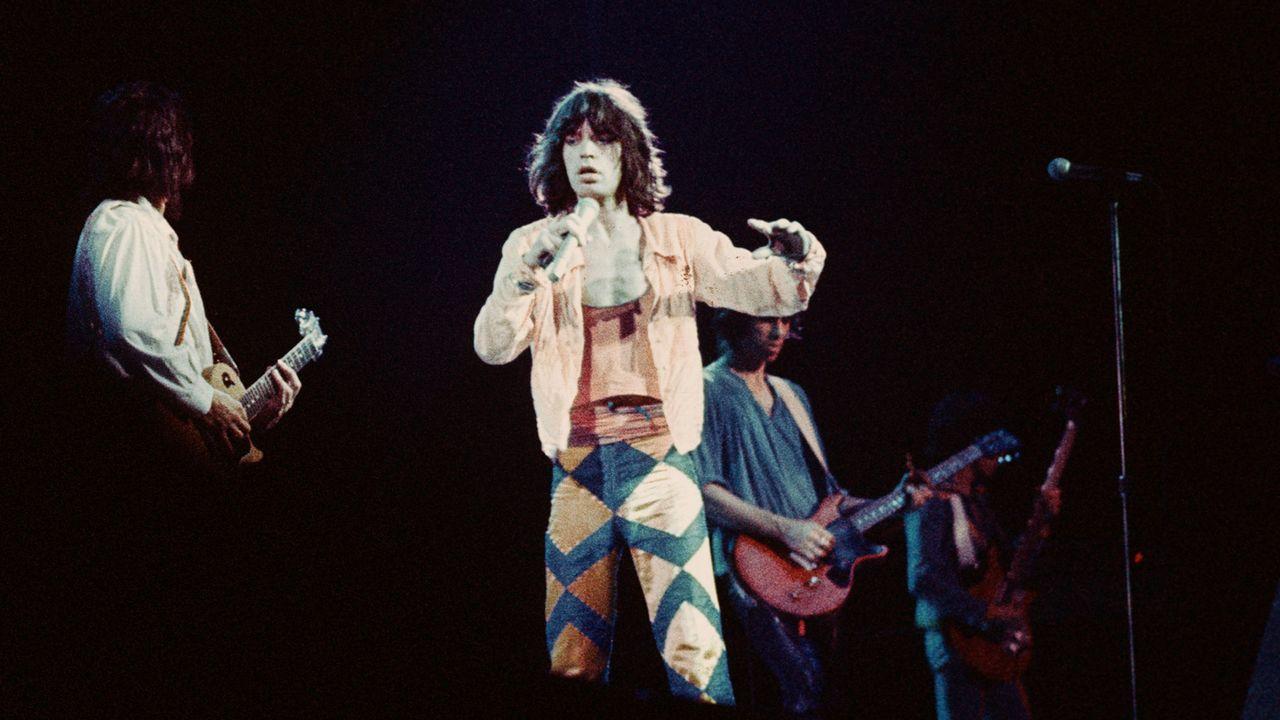 Les Rolling Stones en 1970. [LECOEUVRE PHOTOTHEQUE - AFP]