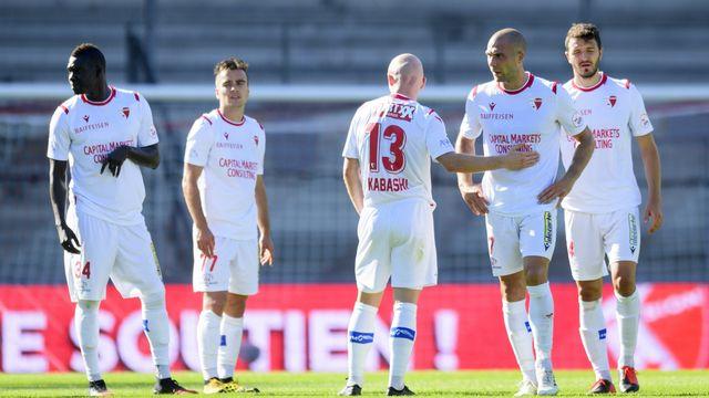 Sion devra éviter le barrage pour jouer son match de Coupe le 6 août. [Laurent Gilliéron - Keystone]