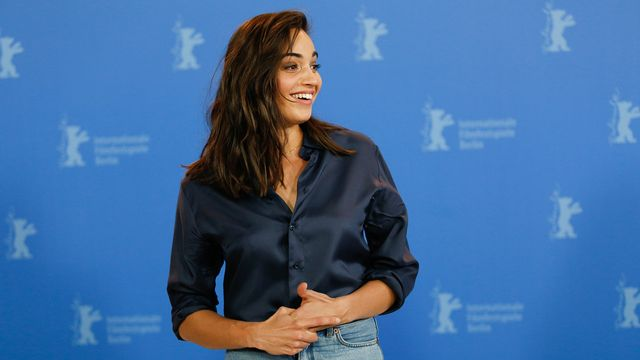 L'actrice Souheila Yacoub. [Tobias Schwarz - AFP]