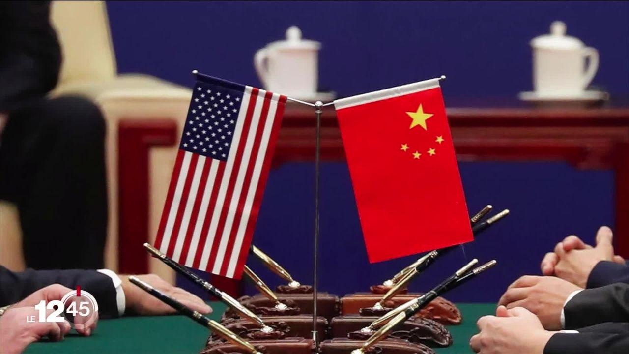 """""""Guerre des consulats"""" entre les Etats-Unis et la Chine. [RTS]"""