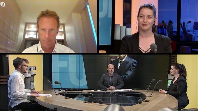 Démission de Michael Lauber: débat entre Léonore Porchet et Christian Lüscher [RTS]