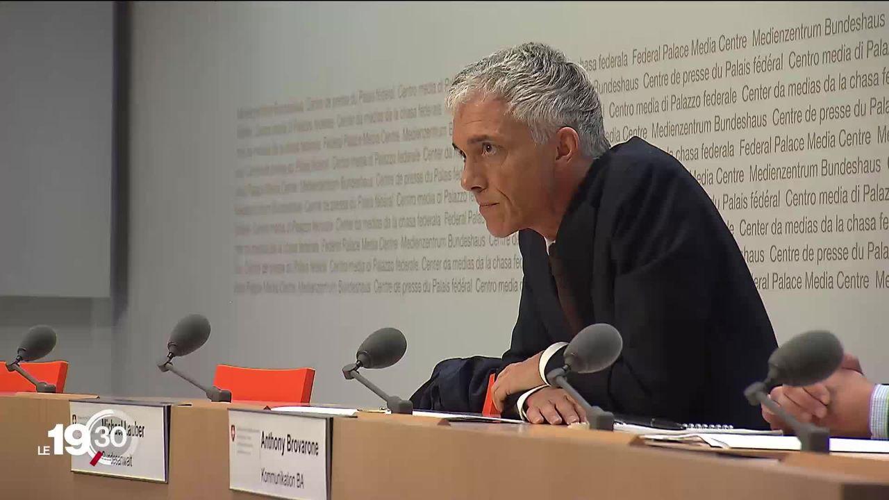 Le procureur général de la Confédération Michael Lauber démissionne. [RTS]