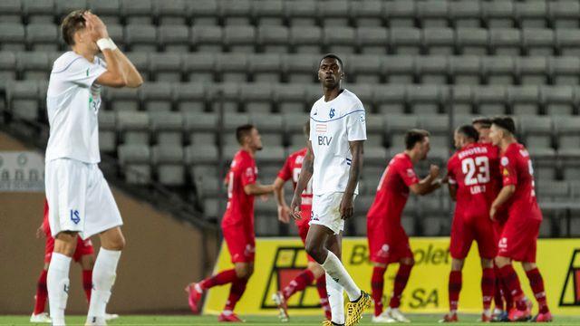 Lausanne n'a pas profité du nul de GC pour valider sa montée en Super League. [Pascal Muller - Freshfocus]