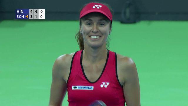 Swiss Pro Cup: Martina Hingis - Patty Schnyder (4-3, 4-1) [RTS]