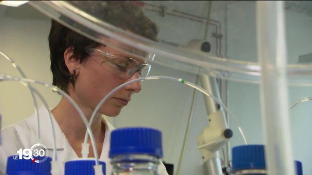 Des traces de chlorothalonil, un fongicide, retrouvées jusque dans l'eau d'Evian. [RTS]
