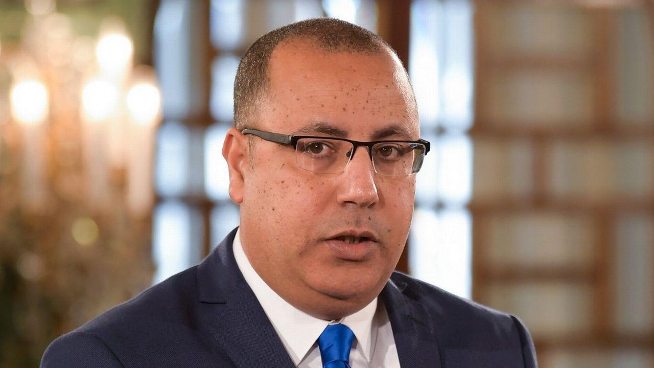 Le ministre tunisien de l'Intérieur Hichem Mechichi a été désigné samedi soir par le président Kais Saied chef du futur gouvernement. [Feti Belaid - AFP]