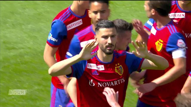 34e journée, Bâle - Lugano (4-4): 8 buts entre Bâle et Lugano ! [RTS]