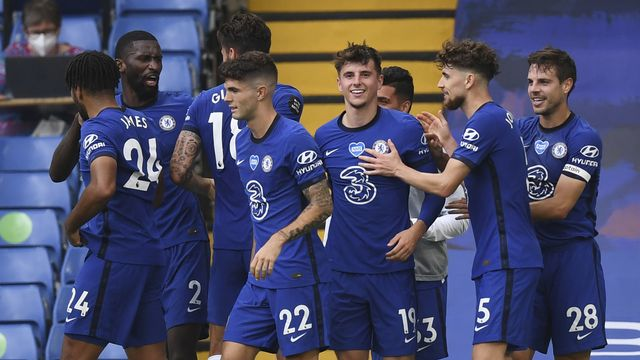 Chelsea, vainqueur 2-0 face à Wolverhampton, finit 4e derrière Manchester United. [Daniel Leal-Olivas - Keystone]