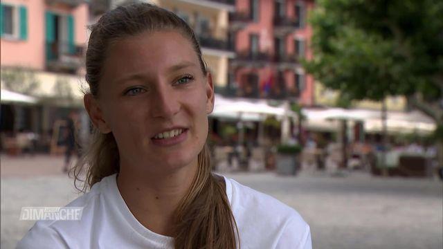 Athlétisme: À la rencontre d'Ajla Del Ponte [RTS]