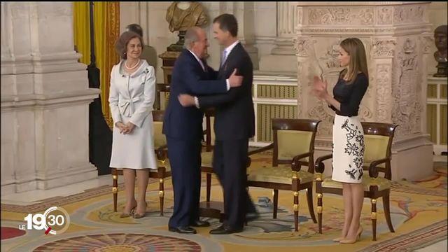 Juan Carlos, ex-roi d'Espagne, se retrouve au coeur d'une enquête de la justice genevoise. Il pourrait être jugé pour fraude. [RTS]