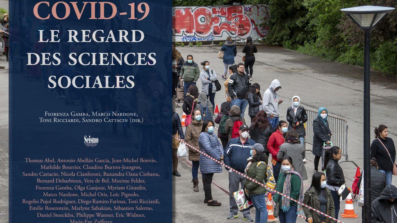 Des chercheurs et chercheuses de l'Université de Genève ont publié une étude des conséquences sociales du Covid-19. [Martial Trezzini/RTS - Keystone]