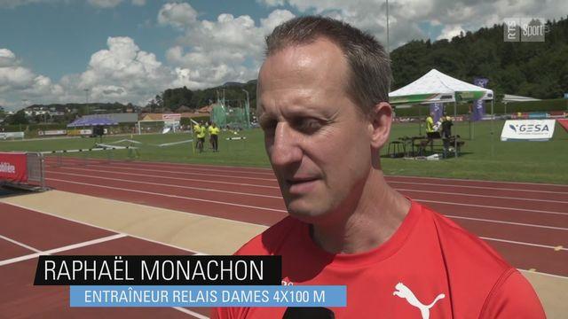 Athlétisme: le coach Raphaël Monachon évoque Ajla Del Ponte [RTS]