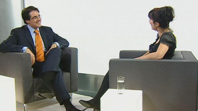 Pardonnez-lui : interview de Darius Rochebin [RTS]