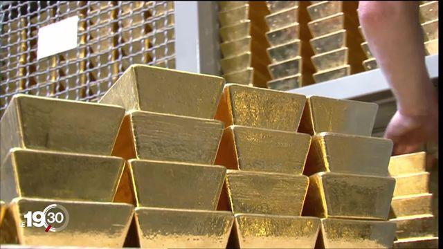 L'or est l'investissement le plus rentable cette année. [RTS]