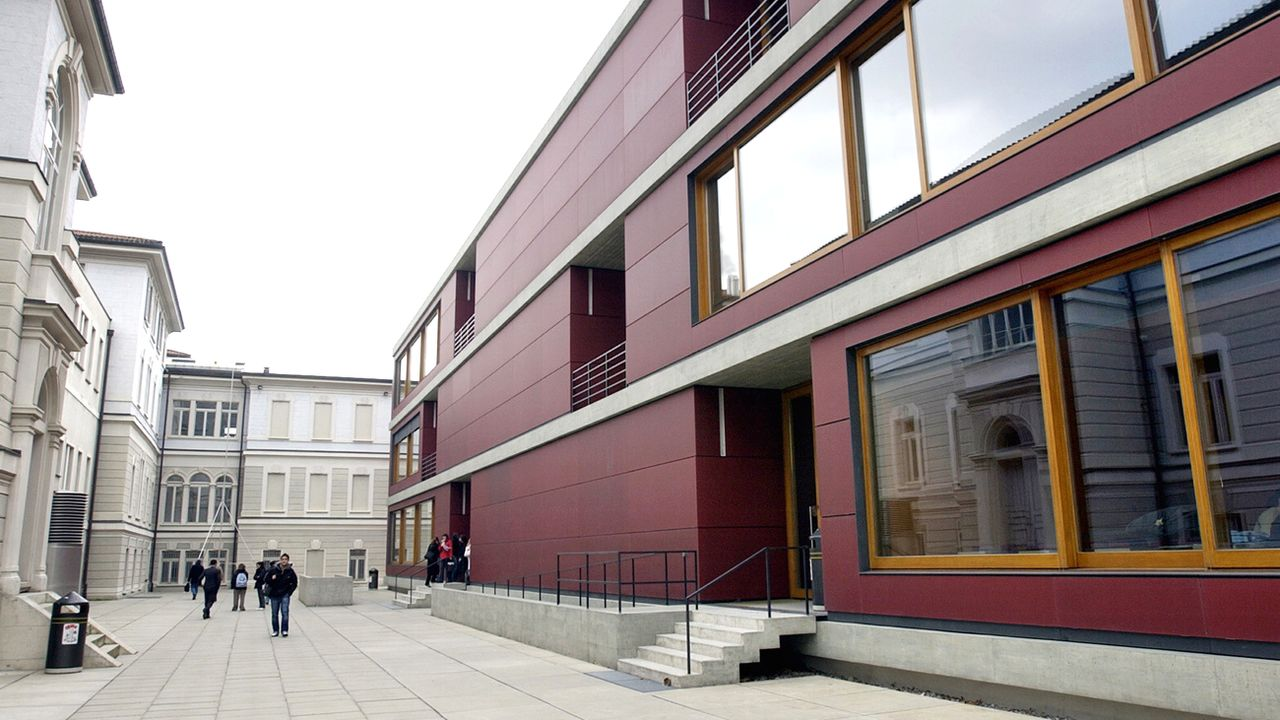 Le site de Lugano de l'Université de la Suisse italienne. [Karl Mathis - Keystone]