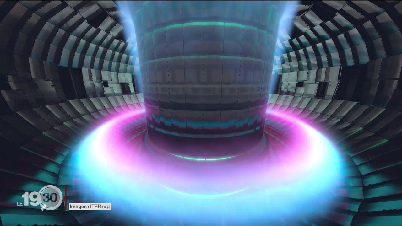 L'assemblage du gigantesque réacteur à fusion nucléaire Iter a débuté en France